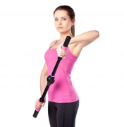 Тренажёр для улучшения формы груди easy curves, для подтяжки груди, для увеличения груди, для тренировки мышц(Черный с розовым)
