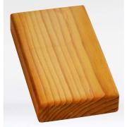 Кирпич для йоги деревянный плоский