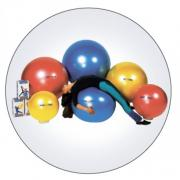 "Мяч ""Body ball "" с BRQ 75 см (желтый) ORTO 90.75"