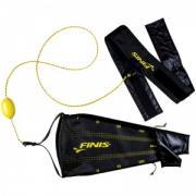 Пояс тормозной с парашютом Finis Drag+Fly, регулируемый, пояс 130 см, парашют 58 см Finis Drag+Fly
