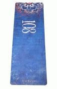 Каучуковый коврик для йоги «Yoga Mat 108» (Egoyoga, Эгойога), 183х66х0,3 см.