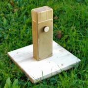 Штамп для вправления позвонков и раскрытия крестца - регулируемый