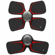 Массажер для тела с электрическо-импульсной стимуляцией нервов и мышц Xiaomi LeFan Magic Sticker LF-H105 Чёрный