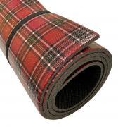 Коврик для йоги и фитнеса Isolon Шотландка 200х110х0,8 см