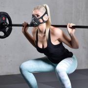 Спортивные очки и маски Phantom Training Mask 3.0, размер S маска для функционального тренинга, бега, фитнеса, mma