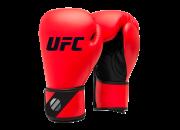 Перчатки тренировочные для спарринга 8 унций (Красные) UFC