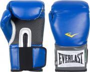 Перчатки тренировочные Everlast PU Pro Style, цвет: синий, 14 oz.