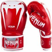 Перчатки боксерские Venum Giant 3.0 Red Nappa Leather