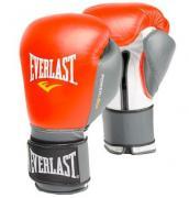 Боксёрские перчатки Everlast Powerlock красного цвета (16 Oz)