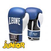 Детские боксерские перчатки Leone 1947 FLASH GN083 Синие, 6 унций Leone