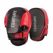 Лапы боксерские Century 2 штуки в комплекте красно-черные