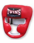 Шлем боксерский Twins размер M красный HGL-6