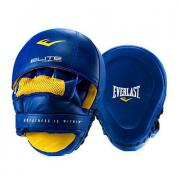 Лапы Everlast Pro Elite Leather Mantis Синий