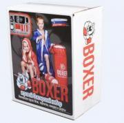 Наборы для бокса, каратэ ПК Лидер Боксерский набор №1, Н-300мм, в ассорт, в подарочной упаковке