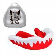 Защита рта (капа) FLAMMA COLOR -Inferno с футляром