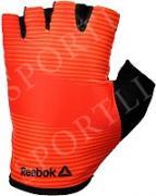 Тренировочные перчатки Reebok (без пальцев) красные размер XL RAGB-11237RD