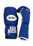 Перчатки для кикбоксинга RealSport RS212 12 унций,