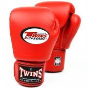 Перчатки боксерские для муай-тай TWINS вес 12 oz красные BGVL-3