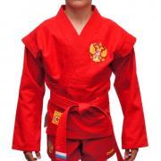 Куртка облегченная для борьбы Самбо Герб