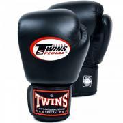 Перчатки боксерские TWINS для муай-тай черные 14 oz BGVL-3