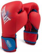 Перчатки боксёрские детские EVERLAST PROSPECT PU, P00001644, Красный, 8 унций
