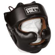 Green-Hill Шлем боксёрский Green Hill Lux Black