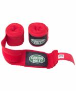 Бинт боксерский Green Hill BC-6235a 2,5 м х/б красный
