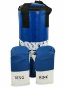 Набор боксерский Realsport Юниор (набор: мешок 45 см, перчатки)