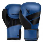 Боксёрские перчатки Hayabusa S4 синие (12 Oz)