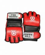 Перчатки для смешанных единоборств Green Hill COMBAT SAMBO MMR-0027CS XL к/з red