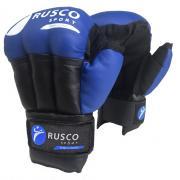 Перчатки для рукопашного боя RUSCO SPORT синие