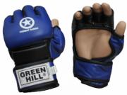 Перчатки для смешанных единоборств Green Hill COMBAT SAMBO MMR-0027CS XL к/з blue
