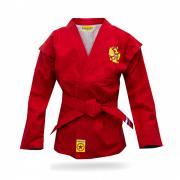 """Крепыш Я Куртка для самбо детская, облегченная, """"Крепыш"""", Красная Крепыш Я"""