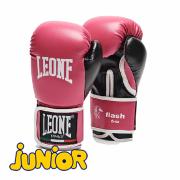 Детские боксерские перчатки Leone 1947 FLASH GN083 Розовые, 6 унций Leone