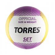 Волейбольный мяч Torres Set р.5, синт. кожа V30045