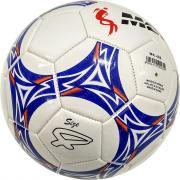 """Мяч футбольный №4 """"Meik-086"""" (белый) 3-слоя, TPU+PVC 3.2, 340-350 гр., машинная сшивка C33394-5"""