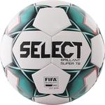 Мяч футбольный Select Brillant Super FIFA TB 810316-004, р.5, бело-зелено-черный