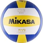 Мяч волейбольный Mikasa MV5PC, размер 5, цвет бел-син-желт