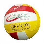 Мяч волейбольный (красный-белый-желтый)
