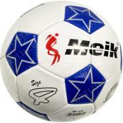 """Мяч футбольный №4 """"Meik-086"""" (белый) 3-слоя, TPU+PVC 3.2, 340-350 гр., машинная сшивка C33394-2"""