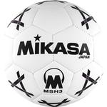 Мяч гандбольный Mikasa MSH 3, синт.кожа, р.3, бело-черно-фиолетовый