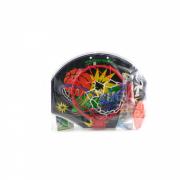 Набор New Room Action Shenzhen Toys Баскетбольный щит с мячом и насосом, 38 см JY2222-6Ф33650