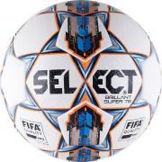 """Мяч футбольный """"SELECT Brillant Super FIFA TB"""", р.5, FIFA,32пан,ПУ микроф,терм,бел-син 810316-002"""
