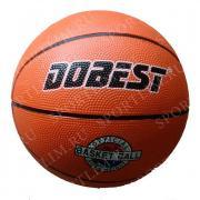 Мяч баск. DOBEST RB5 р.5 резина, оранж.