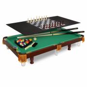 Настольная игра FORTUNA Бильярдный стол Пул 3фт 4 в 1 07736