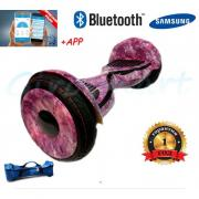 """Гироскутер Smart balance Premium 10.5"""" Космос Розовый Tao-Tao"""
