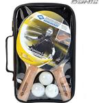 Набор для настольного тенниса Donic PERSSON 500 (2 ракетки, 3 мячика, чехол)