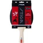 Ракетка для настольного тенниса Stiga React WRB 2**, арт. 1212-8418-01, для тренир., накладка 1,9 мм, ITTF, кон. ручка