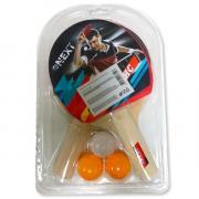 Next набор для настольного тенниса 2 ракетки, 3 шарика 271471