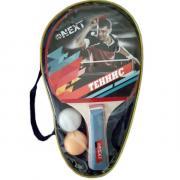 Набор для настольного тенниса 2 ракетки, 2 шарика в чехле 250053